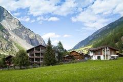Randa Village, Switzerland Stock Images