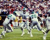 Randall Cunningham Philadelphia Eagles Fotografia Stock Libera da Diritti