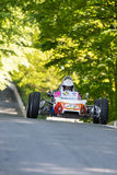 Randall Lawson in einem Formel 1-Rennwagen Renaults GRAC stockfoto