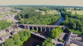 Randalstown Railway Viaduct Bridge over river Maine Co. Antrim Northern Ireland