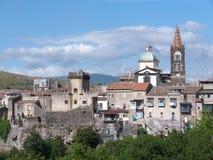 Randazzo Skyline, Italy Stock Image