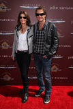 Rande Gerber,Cindy Crawford Royalty Free Stock Photography