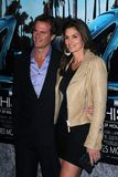 Rande Gerber, Cindy Crawford Royalty Free Stock Photography