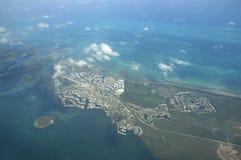 Randello Florida della scogliera dell'oceano Fotografie Stock