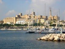 Randello reale dell'yacht di Malta Fotografia Stock Libera da Diritti