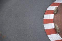 Randen op het spoor van Formule 1 Stock Fotografie