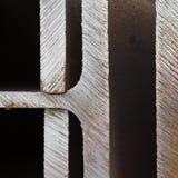 Randen van gesneden staal Stock Fotografie