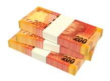Randes sudafricanos en el fondo blanco ilustración del vector