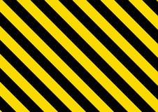 Randig bakgrund f?r svart och f?r guling vektor royaltyfri illustrationer