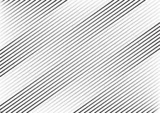 Randig bakgrund med svarta parallella diagonala linjer vektor stock illustrationer
