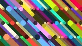 Randig flerfärgad bakgrund arkivfilmer