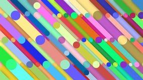 Randig flerfärgad bakgrund (med skuggor) arkivfilmer