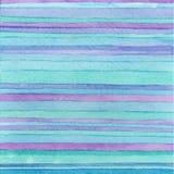 Randig hand dragen vattenfärgbakgrund americanen dekorerar version för vektor för set symboler för design patriotisk blåa färger  Arkivfoton