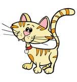 Randig kattunge Royaltyfri Foto