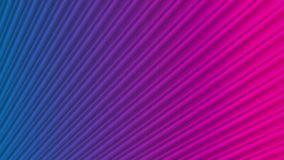 Randig slät video animering för blått purpurfärgat neon vektor illustrationer