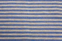 randig tablecloth Arkivbild
