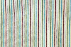 randig textil för bakgrund Arkivbilder