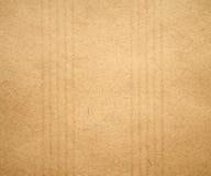 randig textur för gammalt papper Royaltyfri Fotografi