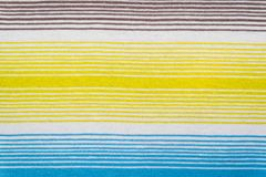 Randig tygmodell i mjuka pastellfärgade färger texturerad abstrakt bakgrund Royaltyfri Fotografi