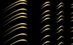 randig vektor för tyg Arkivbild