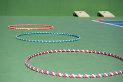 Randiga cirklar av gyckel Royaltyfri Fotografi