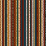 Randigt färgglat stickmönster Seamless bakgrund vektor illustrationer