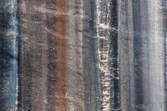 Randigt granit- vaggar Royaltyfri Foto