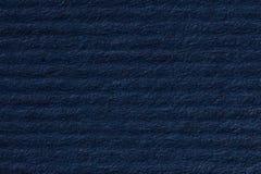 Randigt mörker - bakgrund för blått papper Royaltyfri Bild
