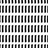 Randigt sömlöst för vattenfärg Tappningkonsttryck Royaltyfri Bild