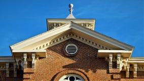 Randolph County Courthouse Detail photographie stock libre de droits