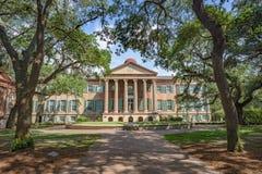 Randolph Hall, faculdade de Charleston, SC Fotografia de Stock