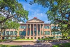 Randolph Hall, faculdade do terreno de Charleston Sc Imagens de Stock