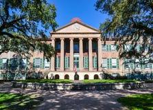 Randolph Hall storico all'istituto universitario di Charleston Immagine Stock Libera da Diritti