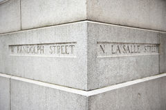 Randolph and La Salle Street Royalty Free Stock Image