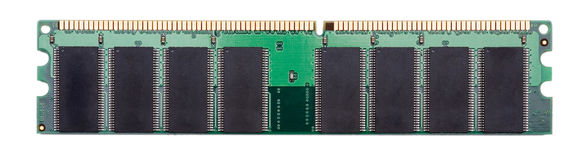 Random-Access Memory Stock Photo