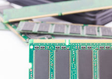 Random Access Memory (DDR RAM) Stock Photo