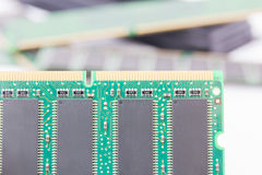 Random Access Memory (DDR RAM) Stock Images