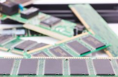 Random Access Memory (DDR RAM) Stock Images