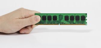 Random Access Memory (RAM) Royalty Free Stock Photography
