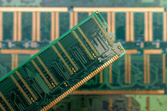 Random access memory (RAM) Royalty Free Stock Photo