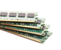 Random Access Memory for servers. Royalty Free Stock Image