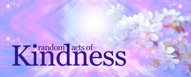Random Acts of Kindness background Royalty Free Stock Photography