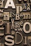 Random Alphabet Stock Photo