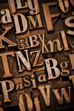 Random Alphabet Royalty Free Stock Photo