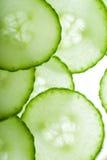 Random arrangement of cucumber Royalty Free Stock Photos