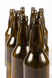 Random Beer Bottles Royalty Free Stock Image