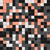 Random beige squares. Random colored abstract, digital generative art for design texture & background. Beige tile. Random colored abstract, digital Royalty Free Stock Photos