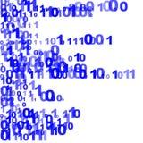 Random binary figures Royalty Free Stock Images