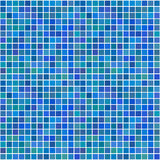 Random blue seamless tiles. Vector - Illustration of a series of random blue seamless tiles with varying hue Royalty Free Stock Photography