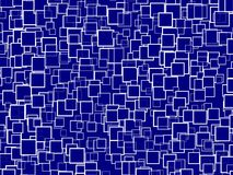 Random Blue Squares Background Royalty Free Stock Image